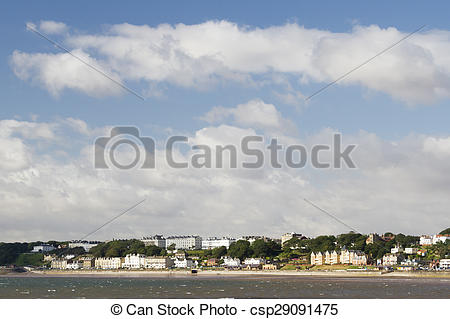 Picture of Filey seaside resort north yorkshire UK csp29091475.