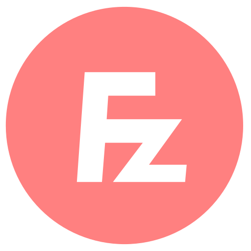 Filezilla Icon Free of Zafiro Apps.