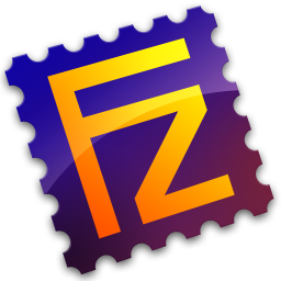 Filezilla, server icon.