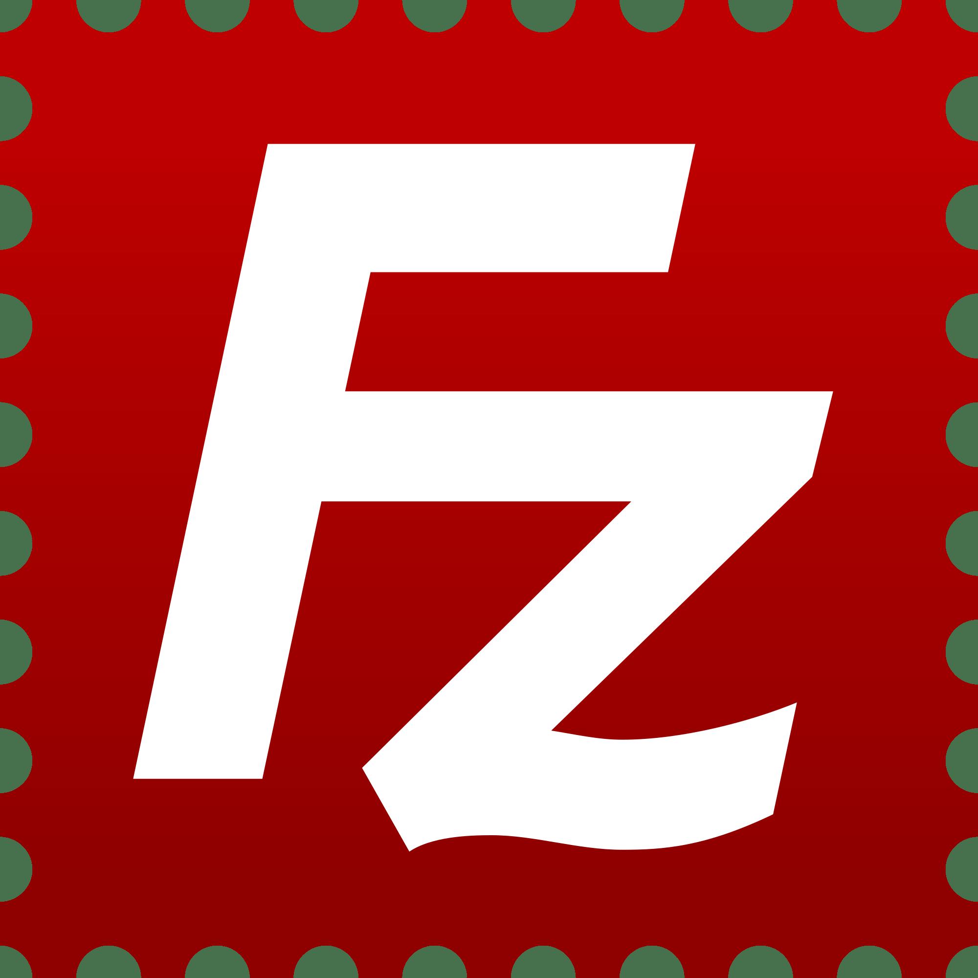 Filezilla Logo transparent PNG.