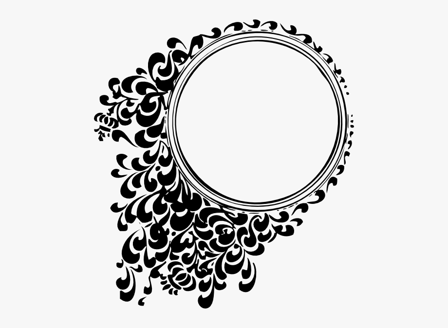 Circular Tattoo Designs Filigree Circle Clip Art.