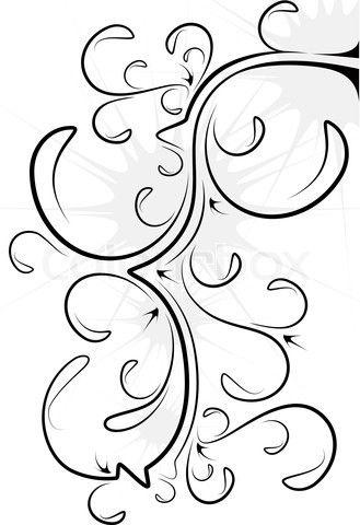 Filigree Clip Art.