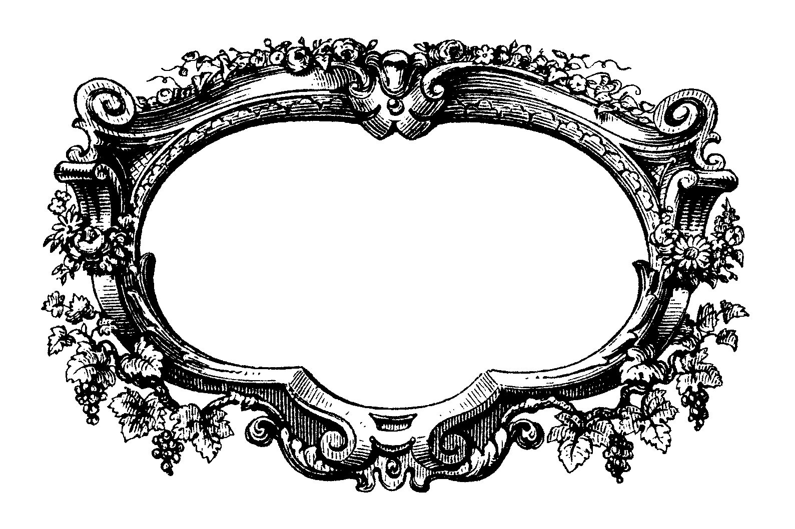 Free Filigree Frame Cliparts, Download Free Clip Art, Free Clip Art.
