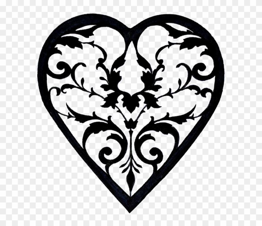 Filigree Heart Png.