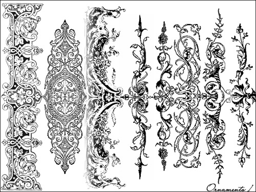 50+ Photoshop Ornament Brushes.