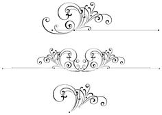 Free clip art filigree.