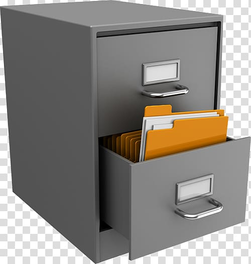 File Cabinets Archivist, box transparent background PNG.