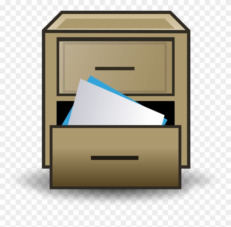 File Filing Cabinet Icon Svg Wikimedia Commons Drawer.