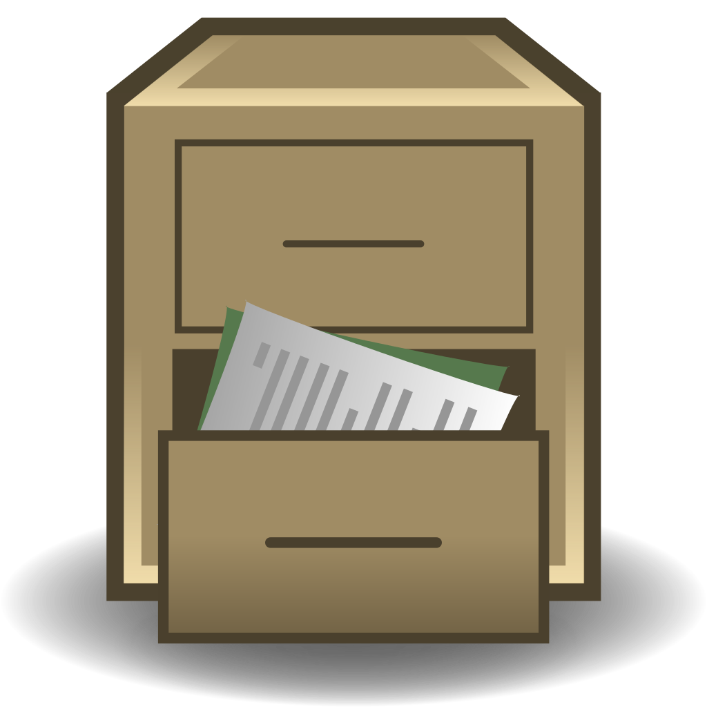 File:Replacement filing cabinet.svg.