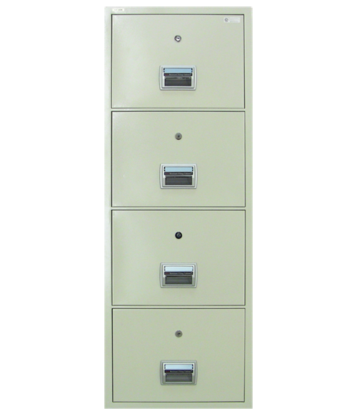 Steelwater Fireproof 4 Drawer File Cabinet.