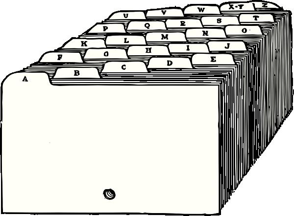 File cabinet clip art.
