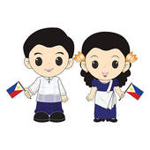 Animated Word Philippines Clipart.