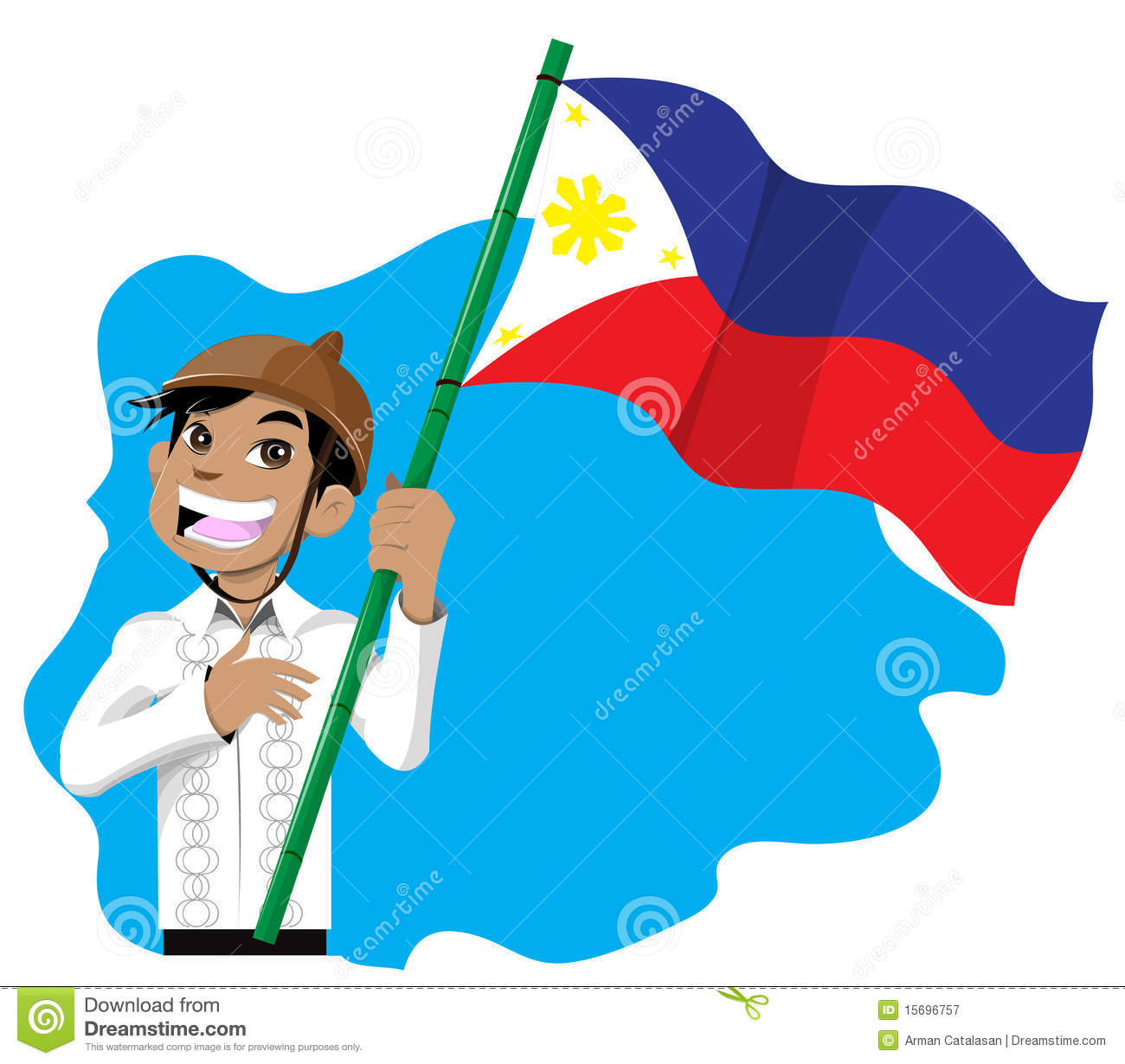Philippines flag free clipart clipground filipino clipart free publicscrutiny Image collections