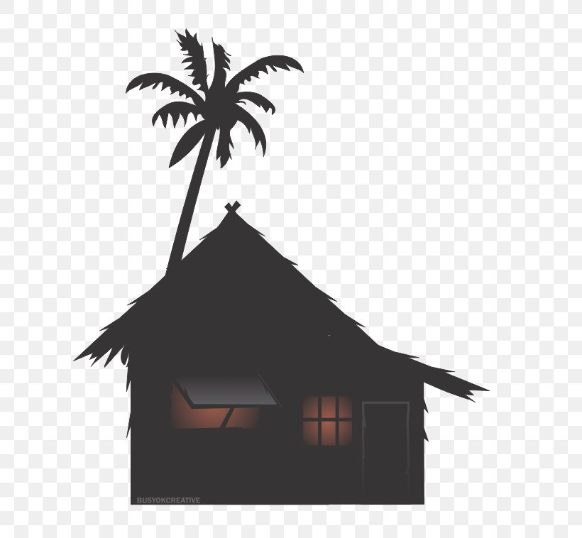 Philippines Nipa Hut Drawing House Clip Art, PNG, 667x758px.