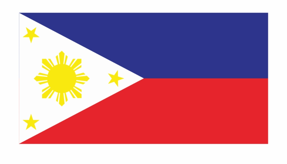 Philippines Flag Logo Vector Philippines Flag With Name.