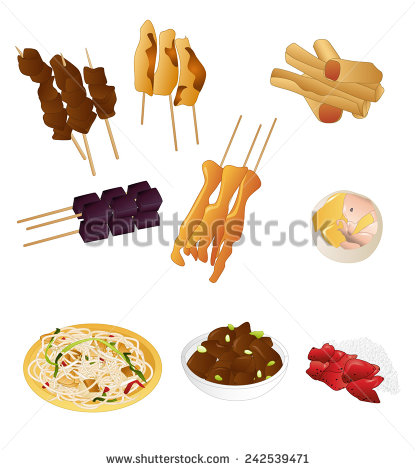 Filipino Food Stock Images, Royalty.