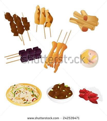 Filipino Food Stock Images, Royalty.