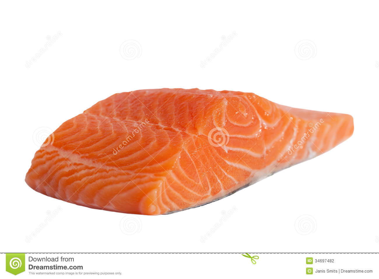 Salmon Fillet. Stock Photography.