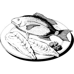 Fish fillet clipart.