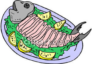 Fish fillet clipart.