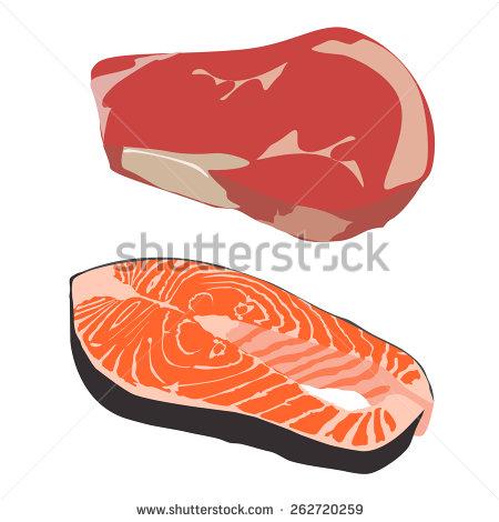 Fish Fillet Stock Vectors, Images & Vector Art.