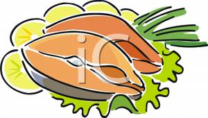 Fish_Fillets_With_Lemon_Royalty_Free_Clipart_Picture_110429.