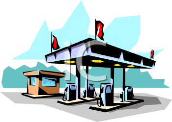 Service Station Clipart.
