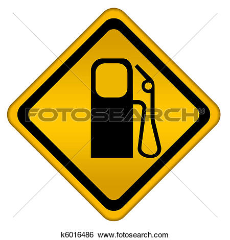 Clipart of Girl with petrol pump. Car service. k17738564.