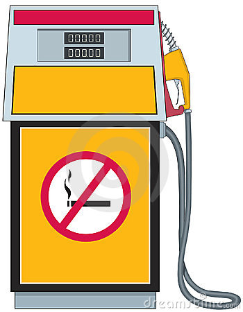 Petrol station clipart.