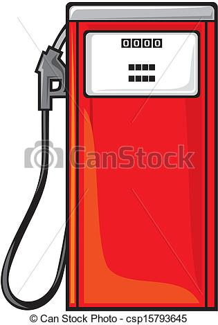 EPS Vector of petrol station csp15793645.
