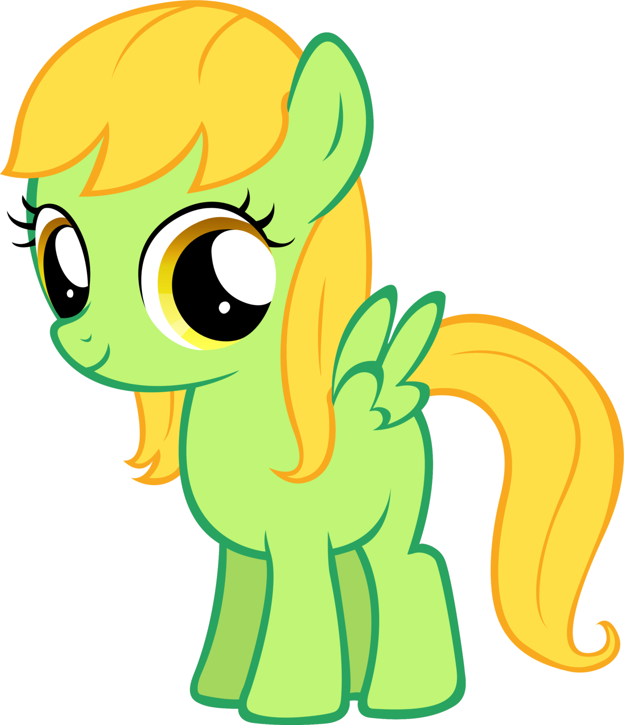 Filly clipart.