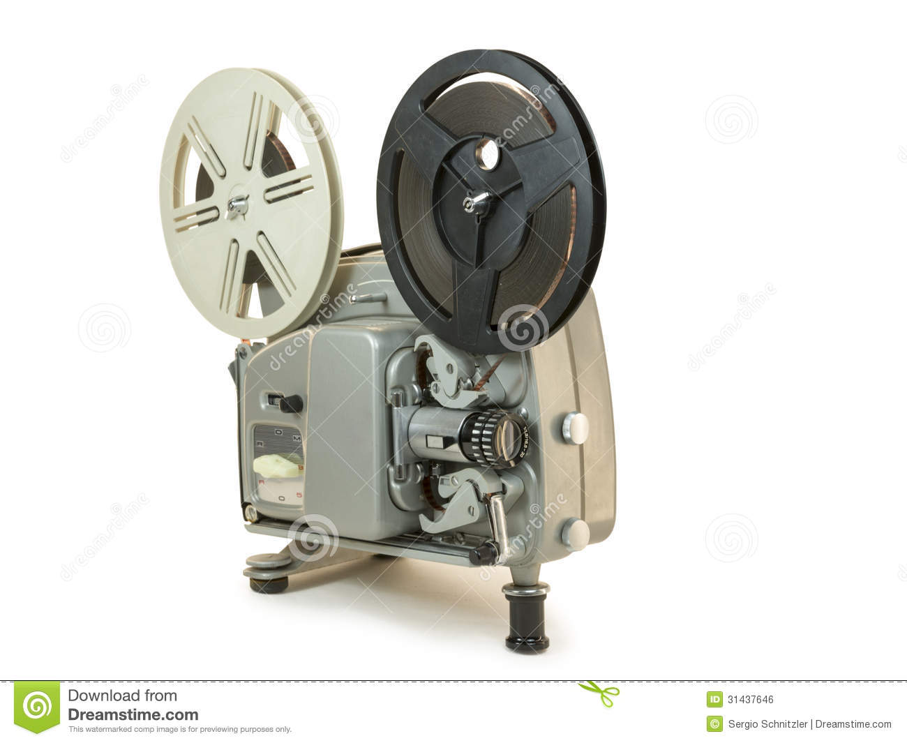 Super 8mm Film Projector 02 Royalty Free Stock Image.