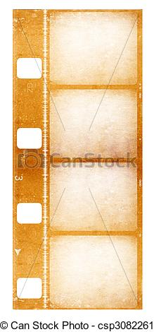 Clipart of 8mm film.