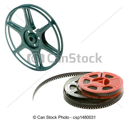Stock Photography of 8mm PROJECTOR WHEEL WITH FILM SPOOL.