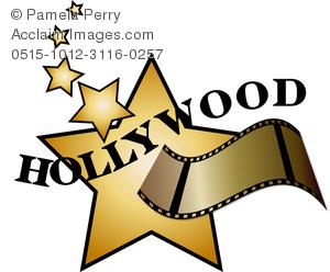 movie star clip art #6