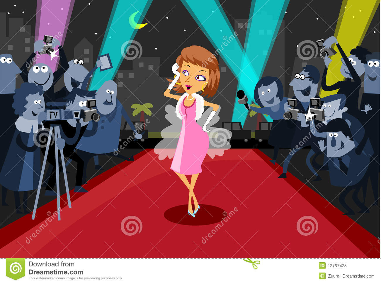 Film star images clipart.