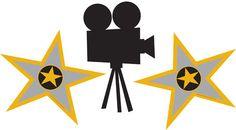 Film star clipart.