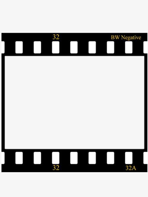 Film border PNG clipart.
