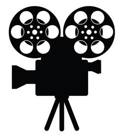 Movie camera vintage film camera clipart clipartfest 3.