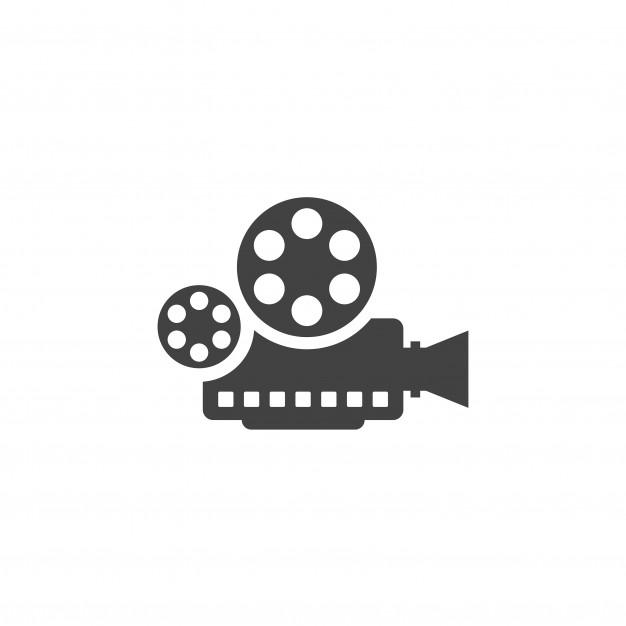 Film camera logo Vector.