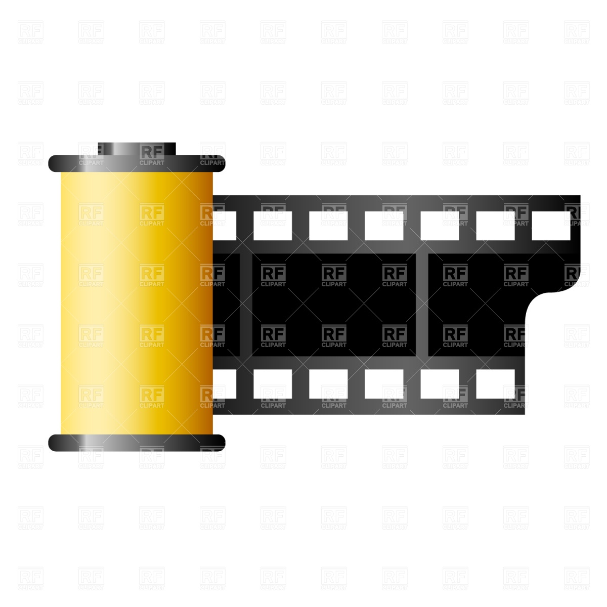 Film Canister Stock Vector Image.