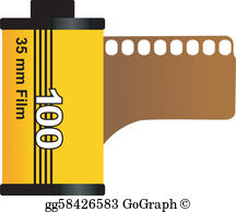 35Mm Film Canister Clip Art.