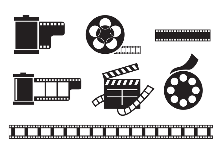 Film Canister Vector.