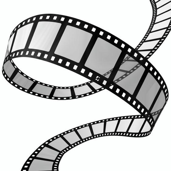 Movie Film Clip Art.