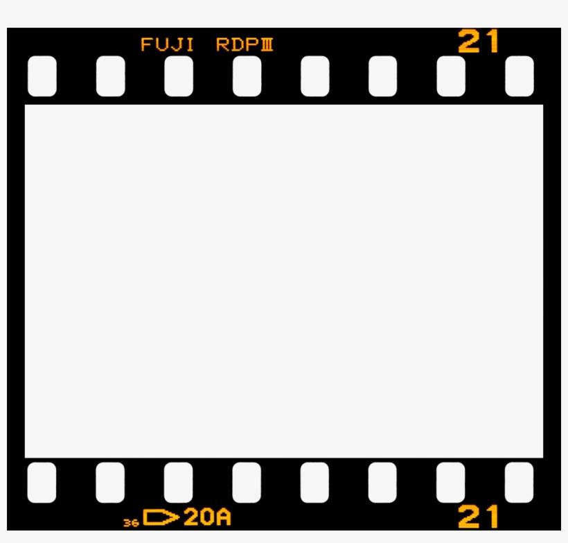 Fuji Border Film Frame Filmframe Vintage.