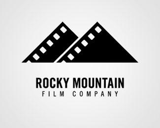 Rocky Mountain Film Company logo. By Ross A Maute (Artful As.