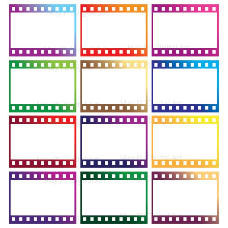 8mm Film Filmstrip Photographer Frames Clip Art Photography.