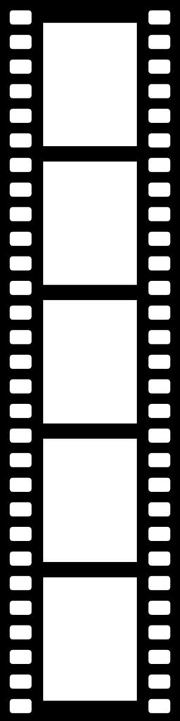 Film Reel Border Clipart.