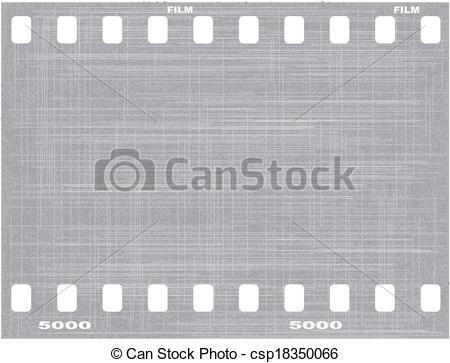 Clip Art Vector of Film Grain Grunge.