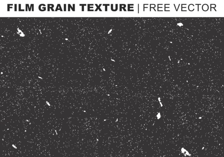 Film Grain Texture Free Vector.